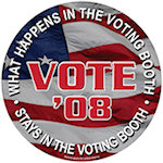 Car Sign Vote Magnets